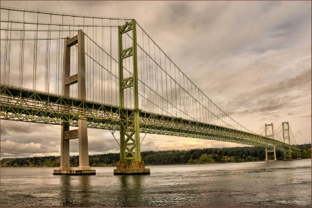 Crossing The Columbia River