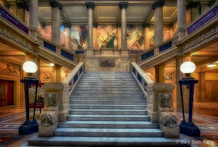 Stairs to Hall of Architecture
