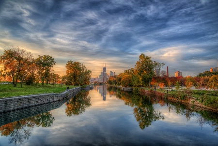 Lincoln Park Reflections