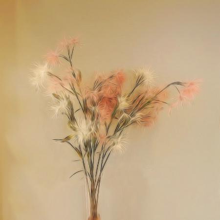 Creative foral arrangement