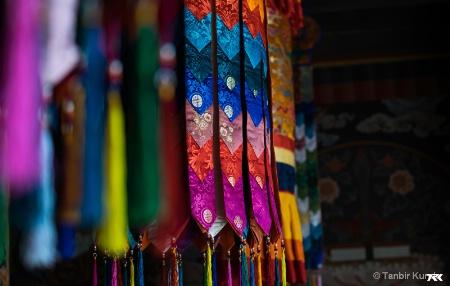 Inside a Dzong