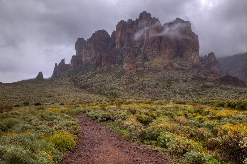 Path to the Superstitions