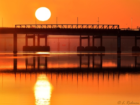 Three Bridge Sunrise