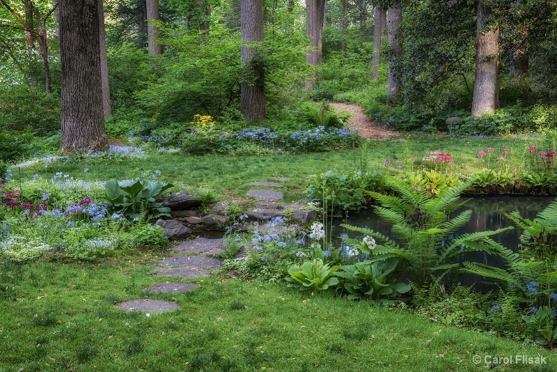 Paths in the Garden - ID: 14912296 © Carol Flisak