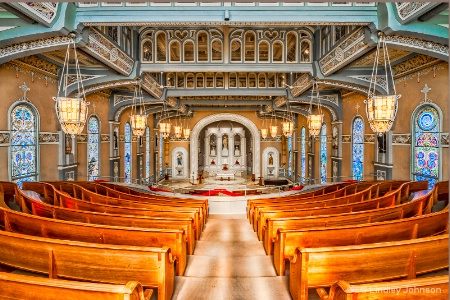 Old St. Patrick's Church in Chicago