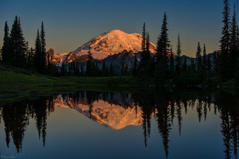 ~Upper Tipsoo Lake & Mt. Rainier~