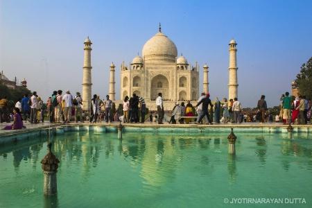Visiting Taj