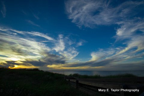 sunset at sandy neck - ID: 14927213 © Mary E. Taylor
