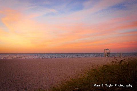 sunrise at seagull beach ii - ID: 14927216 © Mary E. Taylor