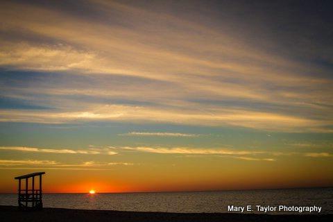 sunrise at seagull beach iv - ID: 14927215 © Mary E. Taylor