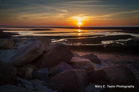 sunset on cape cod bay i - ID: 14927218 © Mary E. Taylor