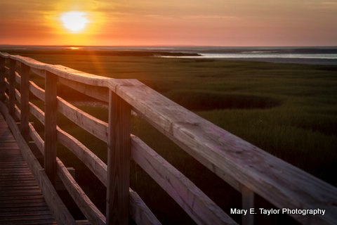 sunset on cape cod bay iii - ID: 14927221 © Mary E. Taylor