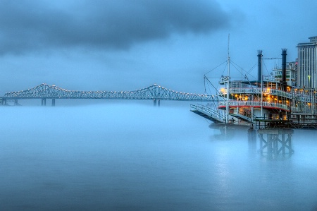 Fog at Dawn, New Orleans