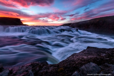 Gullfoss Sunrise