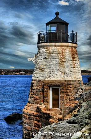 Castle Hill Lighthouse, Newp[ort, RI