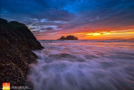 Tide On Seal Rocks