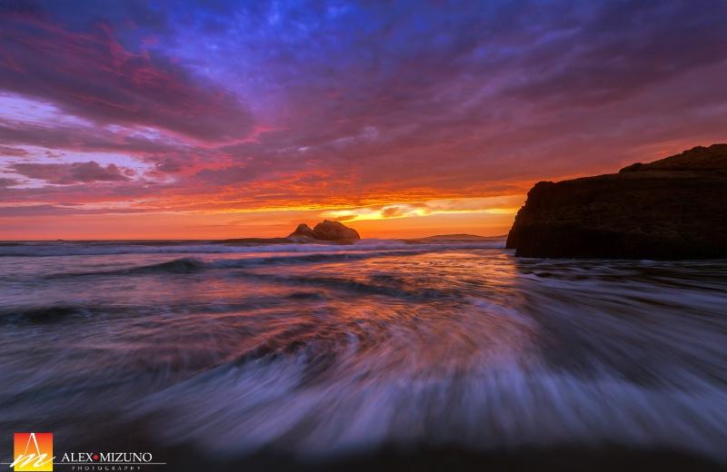 Tide at Sundown
