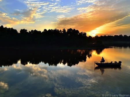 Summer Sunrise Fishing