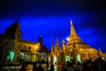 Shwe Dagon Pagoda (Night Scene) 1