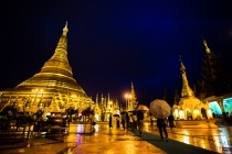 Shwe Dagon Pagoda (Night Scene) 2