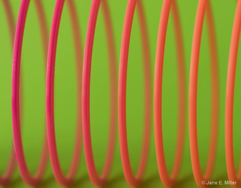 Colorful Slinky!
