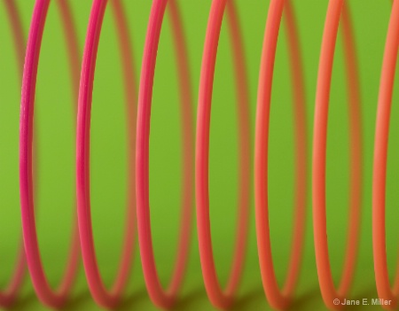 Colorful Slinky!