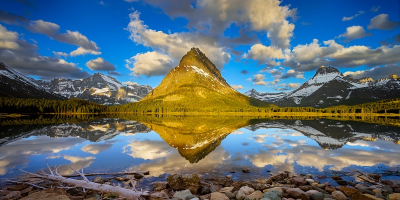 Grinnell Point reflection - ID: 14952269 © Eric Reese