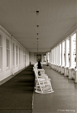 Veranda - Mount Washington Hotel...