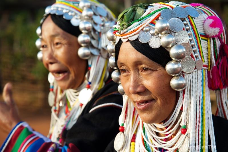 Tribal Lady in Traditional Wear