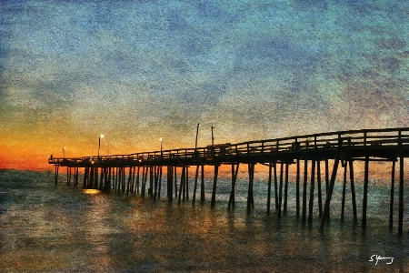 Nags Head Pier; Outer Banks of NC