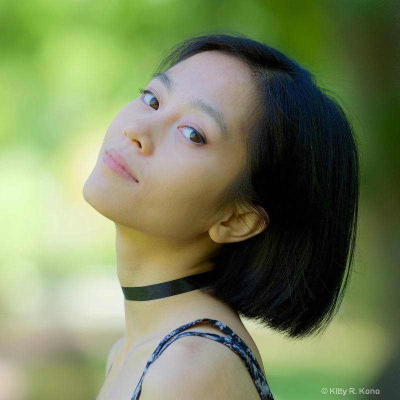 Yumiko at Eastern College Pond - ID: 14975458 © Kitty R. Kono