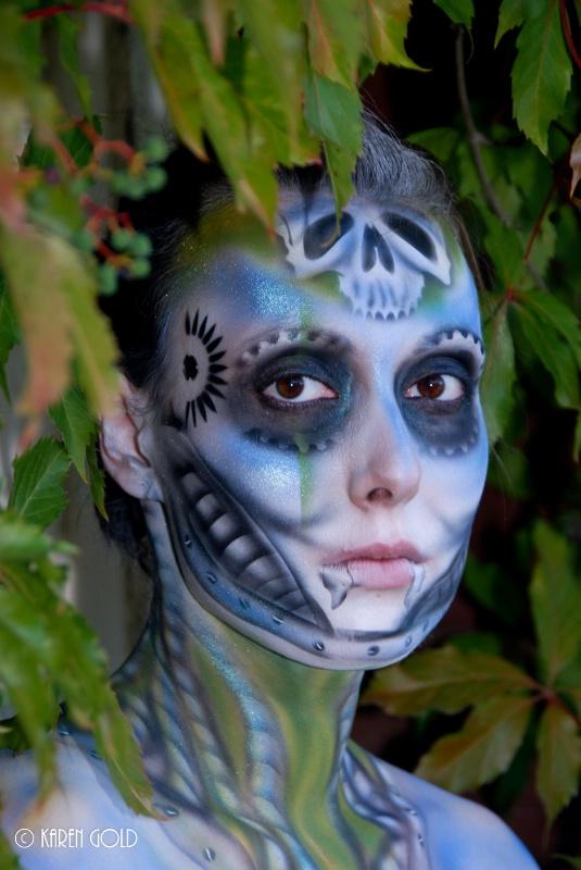 Body Painting. - ID: 14976611 © Karen E. Gold