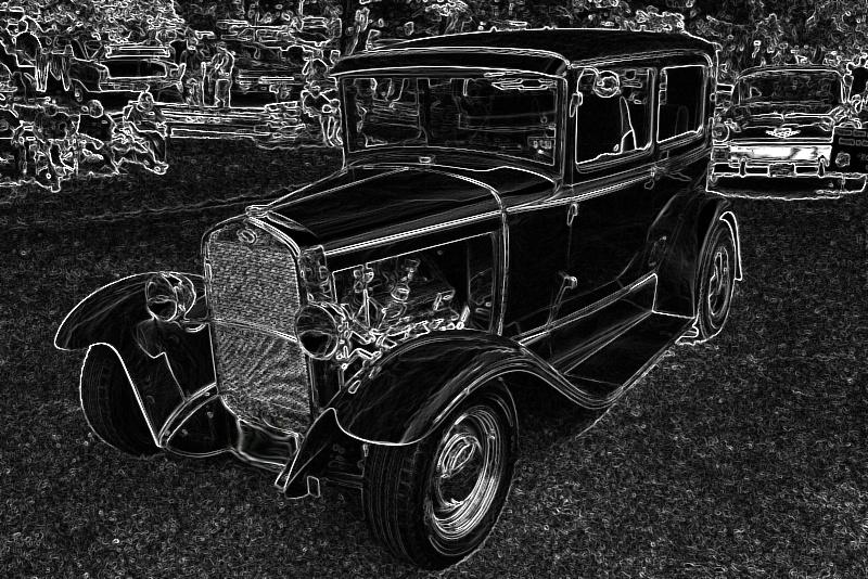 antique car modified