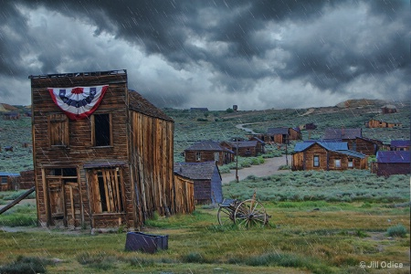 Rainy Day at Bodie