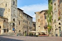 San Gimignano Scene