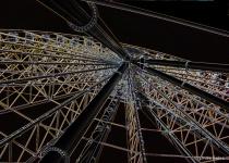 Glowing Skywheel