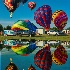 © Ronald Balthazor PhotoID# 14997960: balloon reflections