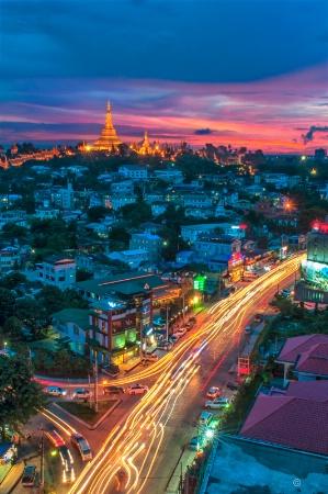 The Colorful Yangon