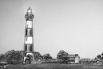 Artistic B&W Lighthouse-Bodie 6-0 f lr 8-8-15 j372