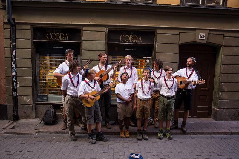 Alpine Band in Stockholm Street - ID: 15008944 © Ilir Dugolli