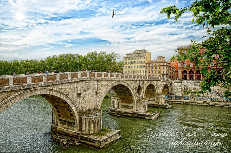 Old Bridge in Rome