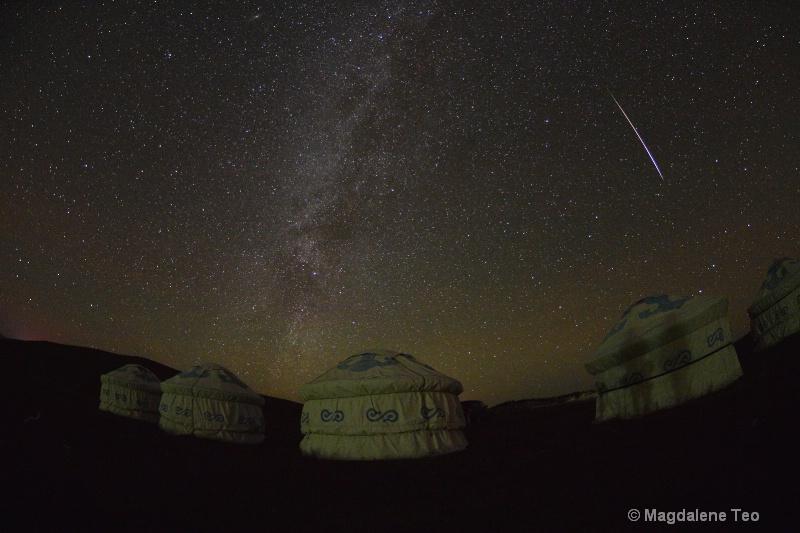 Meteor MW in Inner Mongolia - ID: 15012004 © Magdalene Teo
