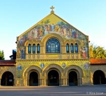 Sunlit Mosaic Radiance Stanford Church