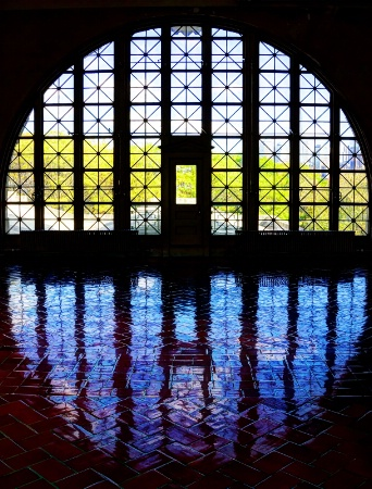 Light Embrace at Ellis Island