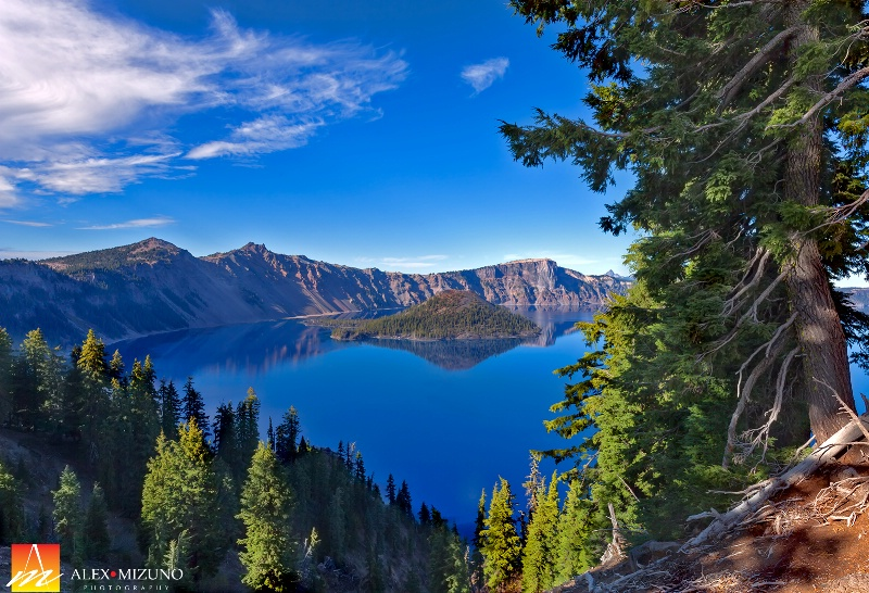 Blue Day at Crater Lake