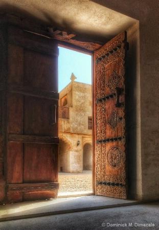 ~ ~ AN OPEN DOOR ~ ~