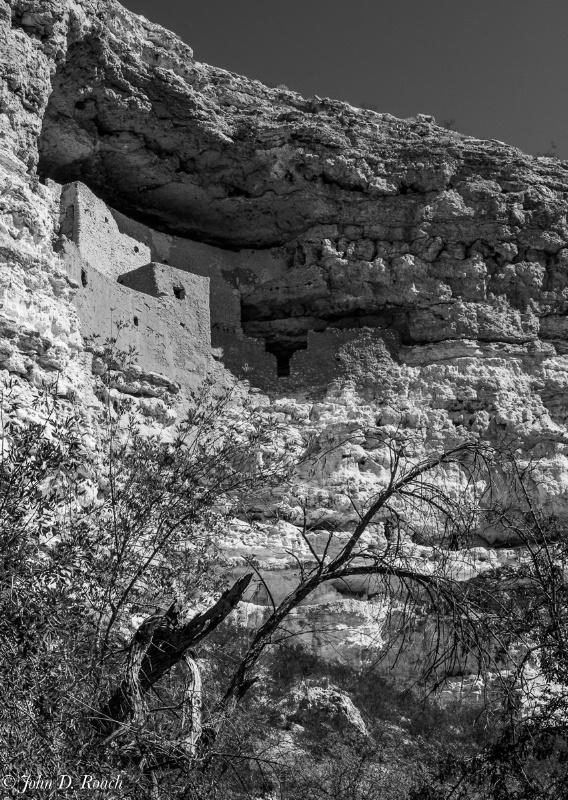 Montezuma Castle #1 - ID: 15028402 © John D. Roach