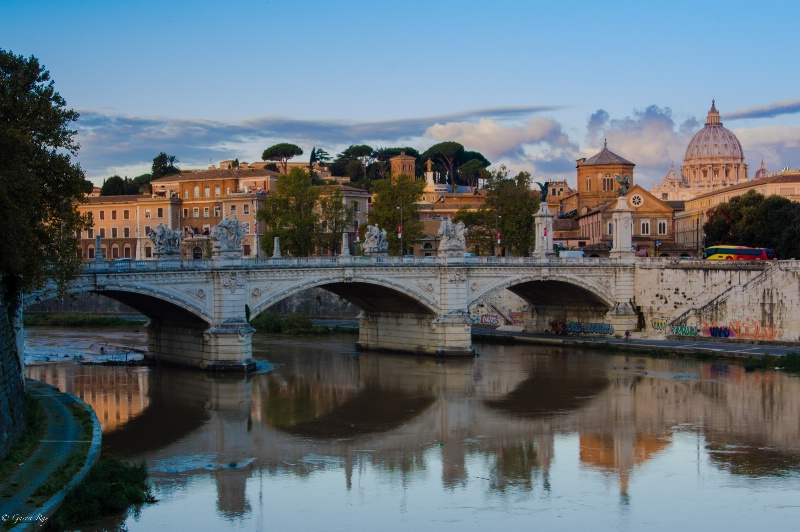 ~The Vatican and the Tevere River~