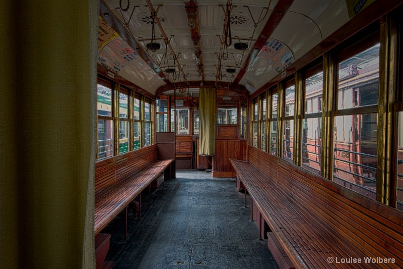 Tram Restoration 1 - ID: 15035542 © Louise Wolbers