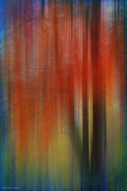 Autumn Tree Abstract